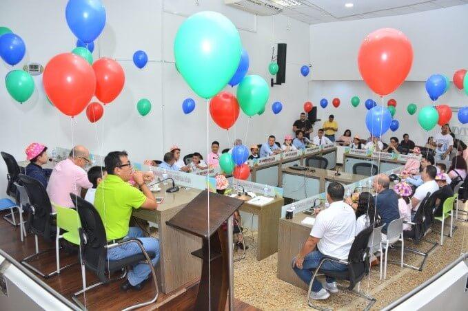 Photo of En el Concejo de Villavicencio, el turno fue hoy para los concejales infantiles