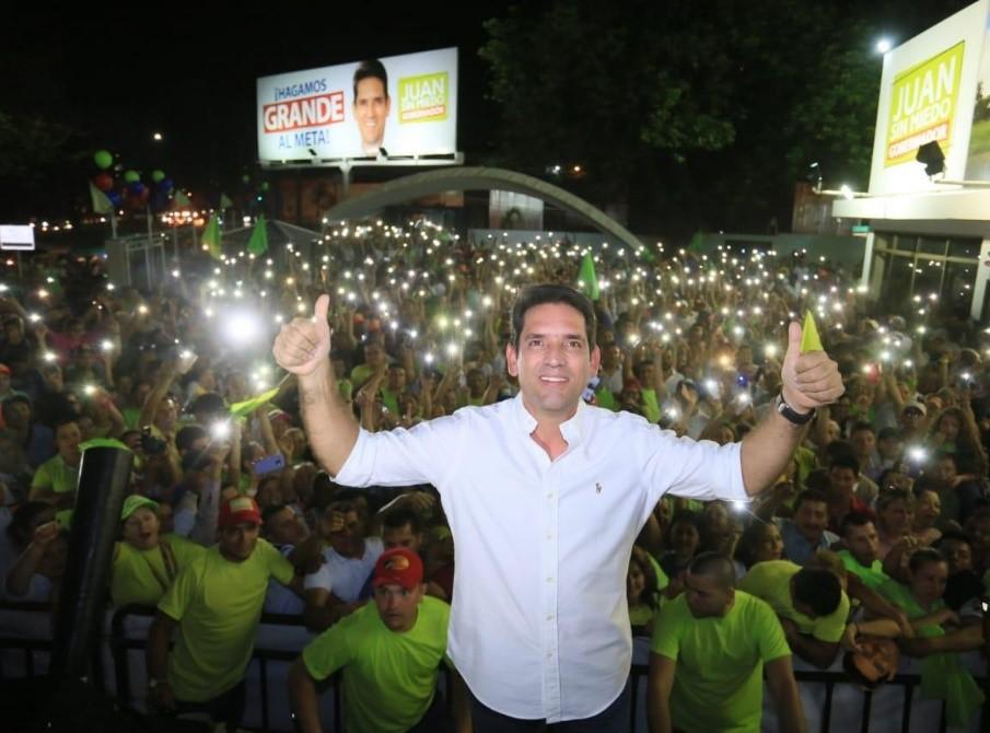 Photo of Comienza a escribirse la historia de HACER GRANDE AL META, Juan Guillermo Zuluaga, se posesiona hoy como gobernador