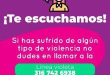 Photo of Línea Violeta, su número amigo en caso de violencia contra la mujer