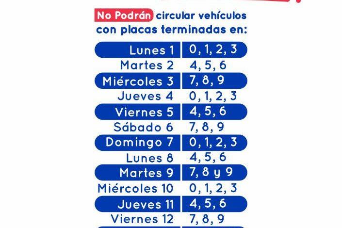 Photo of Exentos por el gobierno nacional tampoco les aplicará pico y placa vehicular