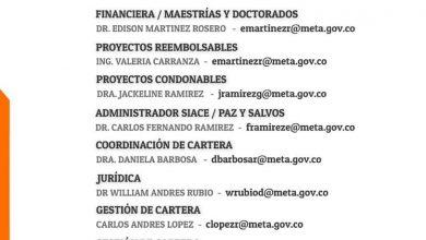 Photo of Fondo Social para la Educación Superior del Meta resuelve dudas de forma virtual sobre sus créditos