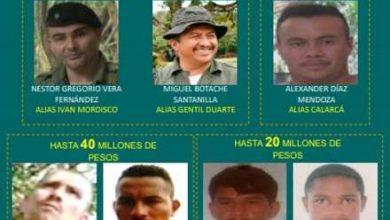 Photo of Estos son los 7 narcotraficantes de disidencias más buscados en Meta.