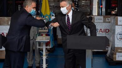 Photo of EE.UU. ha aportado más de USD30 millones a Colombia para enfrentar la pandemia: Embajador
