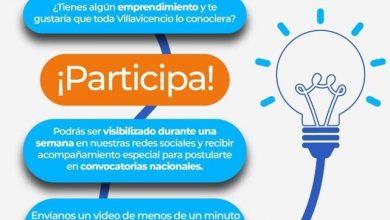 Photo of Emprendedores de Villavicencio podrán visibilizar sus negocios de manera gratuita en las redes de la alcaldía