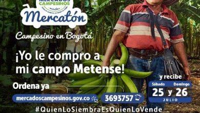 Photo of Familias del Meta participan del 'Mercatón', una plataforma para comercializar productos del campo