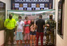 Photo of Capturados cuatro sujetos dedicados al tráfico de estupefacientes en Granada, Meta