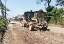 Photo of Infraestructura realiza el mejoramiento de la vía principal que comunica a Covisán con Okavango