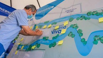 Photo of Con elementos de identidad de Villavicencio vecinos de Alma Viva aportan sus ideas a los diseños del Parque