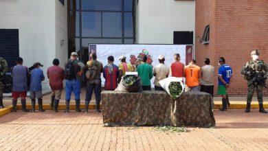 Photo of Ejército capturó a 13 sujetos en un laboratorio para el procesamiento de pasta de base de coca