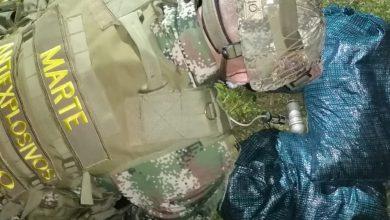 Photo of Ejército Nacional ubica y destruye granada tipo muse abandonada en un barrio de Villavicencio