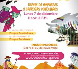 Photo of Están abiertas las inscripciones para los interesados en participar del Carnaval de Mitos y Leyendas, el próximo 7 de diciembre