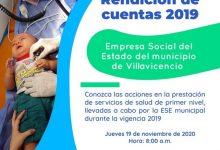 Photo of La ESE municipal de Villavicencio rinde cuentas este jueves