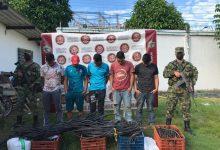 Photo of Capturadas cinco personas por hurto de cobre perteneciente a una empresa petrolera  en el Meta
