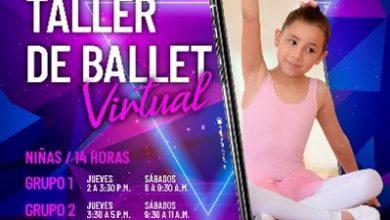 Photo of Inscriba a sus hijos en los talleres virtuales de ballet y música de cultura Cofrem