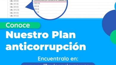 Photo of Ciudadanos pueden formular aportes al Plan  Anticorrupción y de Atención al Ciudadano 2021