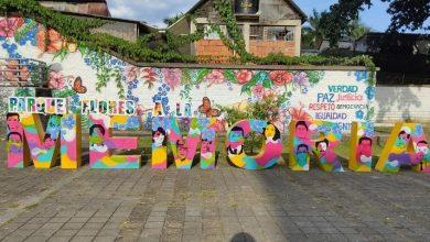 Photo of Entregan estructura de arte un homenaje a las víctimas del conflicto armado en el Meta