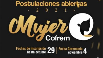 Photo of Abiertas se encuentran las postulaciones para el Premio Mujer Cofrem 2021